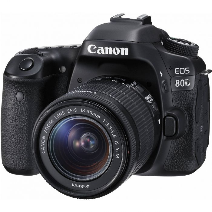 Canon EOS 80D Camera with 18-55mm Lens,,