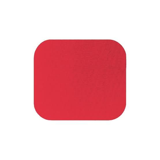 Fellowes economy mouse pad Red 29701