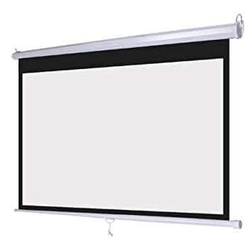 Office point 100 Wall mount 80 x 60 projector screen