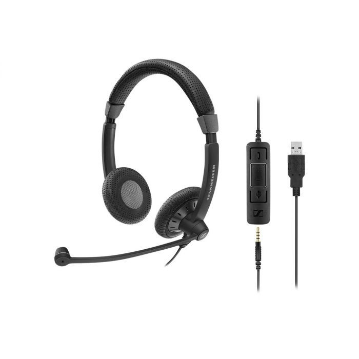 Sennheiser SC 75 Wired Headsets- Culture Plus Series