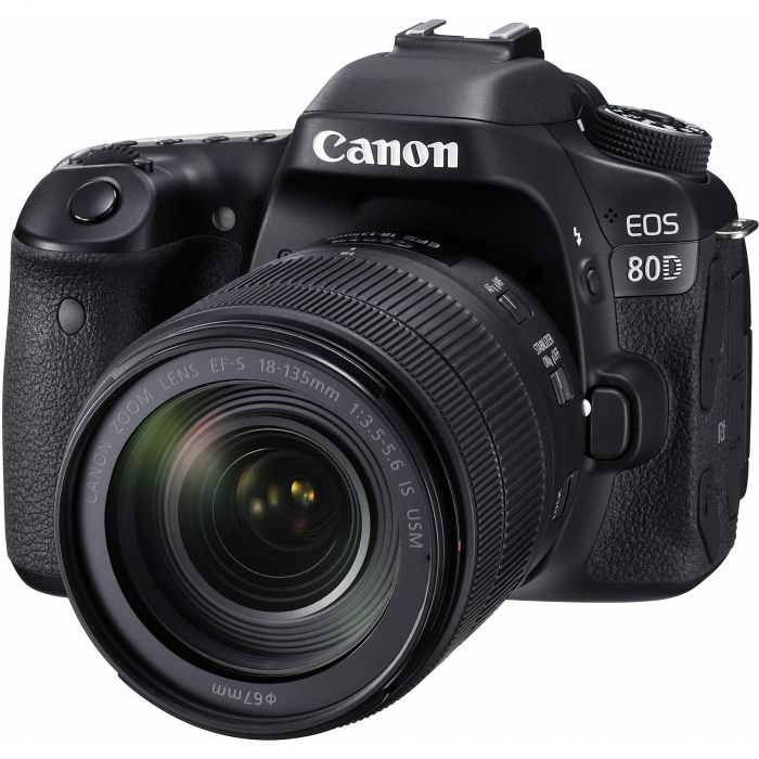Canon EOS 80D Camera with 18-135mm Lens