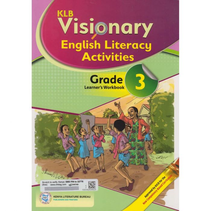 KLB Visionary English Literacy Activities Grade 3L/B (Approved)