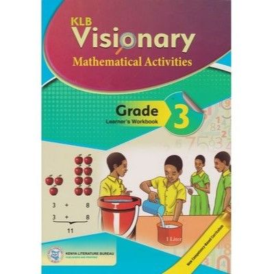 KLB Visionary Mathematical Activities Grade 3 L/B (Approved)