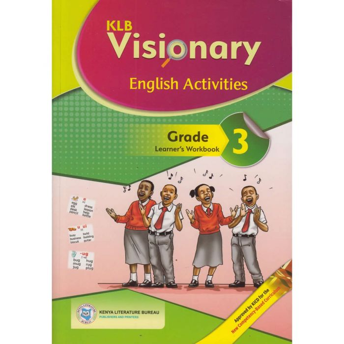KLB Visionary English Activities Grade 3 L/B (Approved)