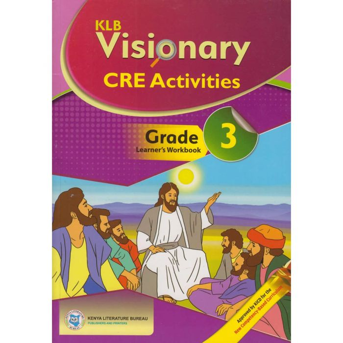 KLB Visionary Christian Religious Education Grade 3 L/B (Approved)