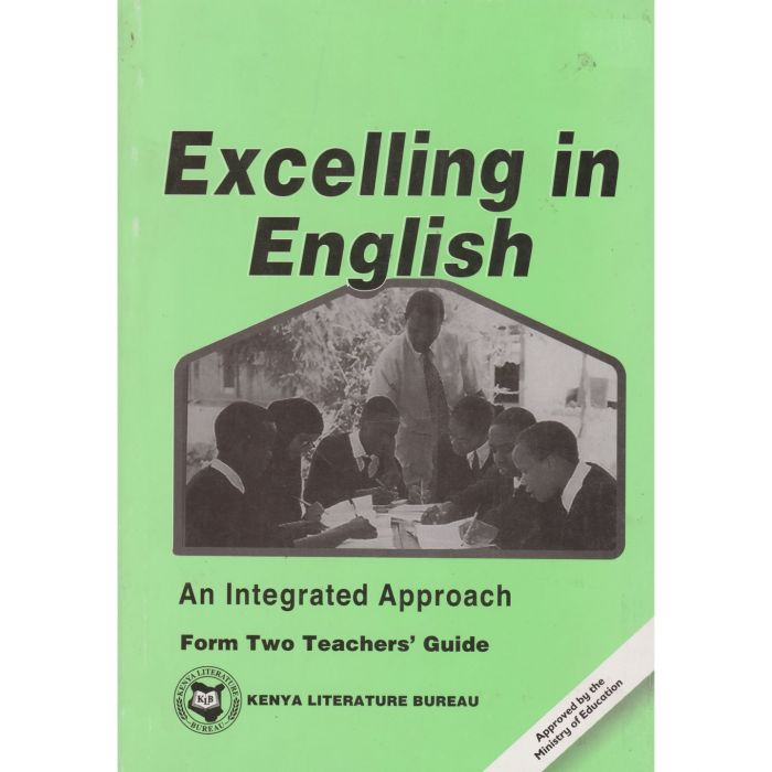 KLB Excelling In English Form 2 T/G [Approved]