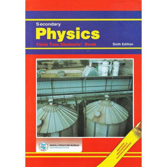 KLB Secondary Physics Form 2 S/B [Approved]