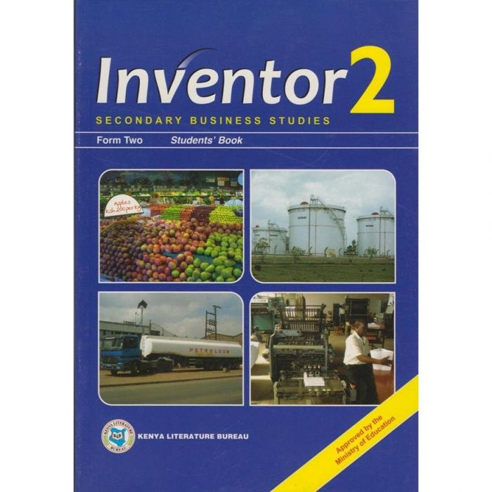 KLB Inventor Business Studies Form 2 S/B [Approved]