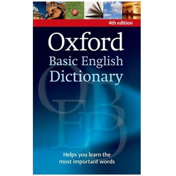 Oxford Basic English Dictionary (OBED) 4th Ed