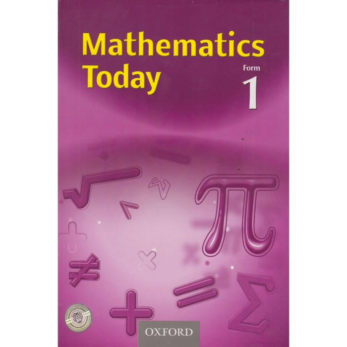 Oxford Mathematics Today Form 1 Student's Book