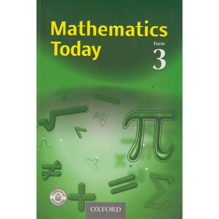 Oxford Mathematics Today Form 3 Student's Book