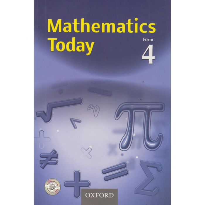 Oxford Mathematics Today Form 4 Student's Book