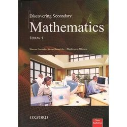 Oxford Discovering Secondary Mathematics Form 1 Student's Book