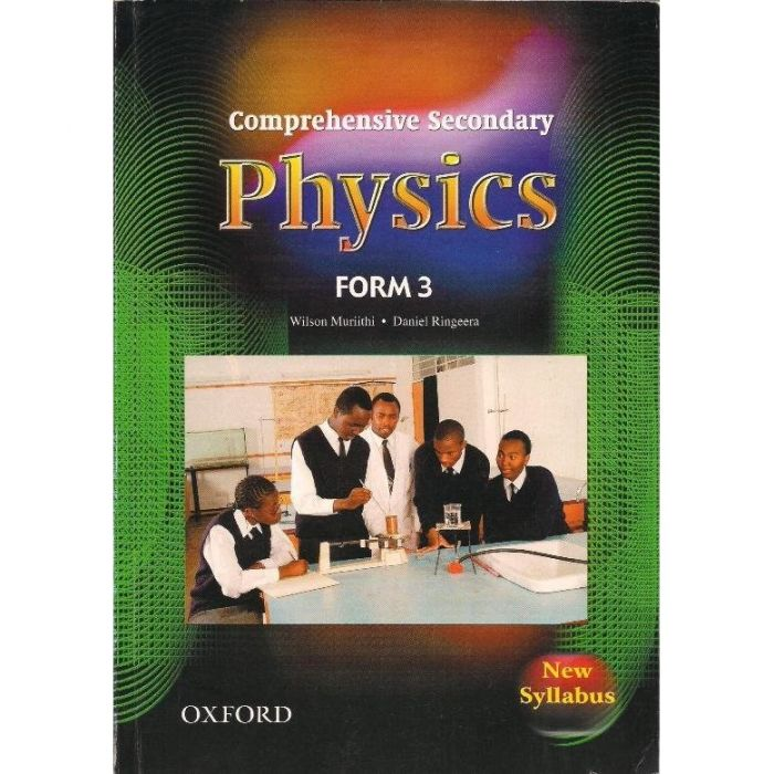Oxford Comprehensive Secondary Physics Pupil's Book 3