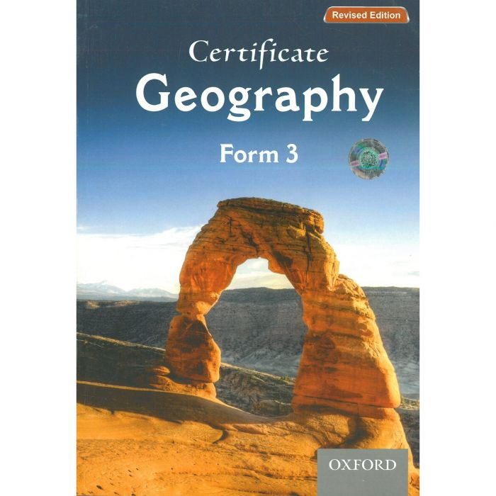 Oxford Certificate Geography Form 3 Student's Book