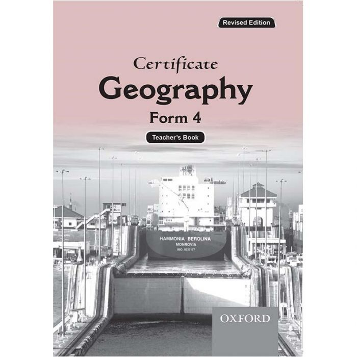 Oxford Certificate Geography Form 4 Teacher's Book