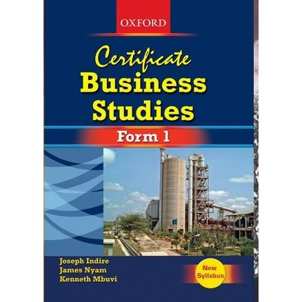 Oxford Certificate Business Studies Form 1 Student's Book, New edition