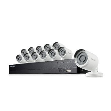 Samsung Hanwha SDH-B73043BF 4 Channel Video Security System