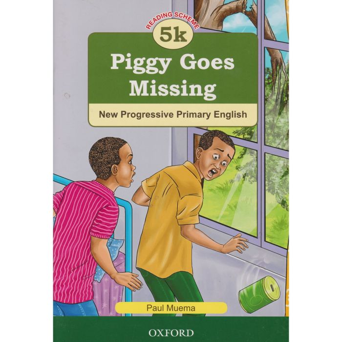 Oxford NPPE: RS. 5k - Piggy Goes Missing