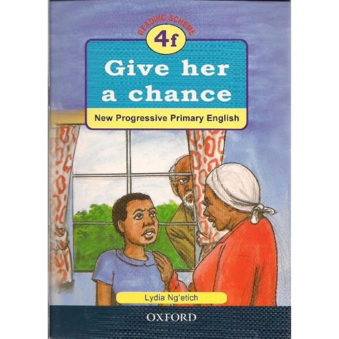 Oxford NPPE: RS. 4f - Give her a Chance