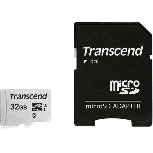 Transcend 32GB Memory Card with Adapter