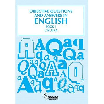 Moran Objective Questions and Answers in English Bk 1