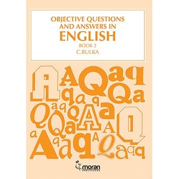 Moran Objective Questions and Answers in English Bk 2