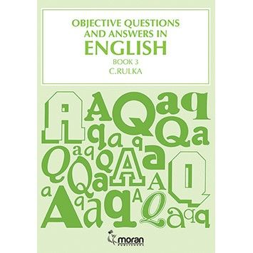 Moran Objective Questions and Answers in English Bk 3