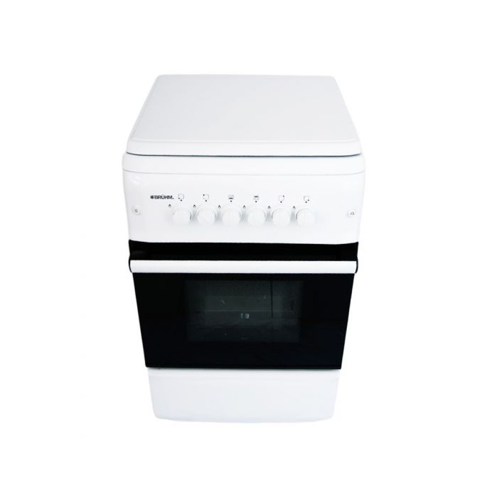 Bruhm BGC 5040NW 50X55 4 Gas Cooker-White