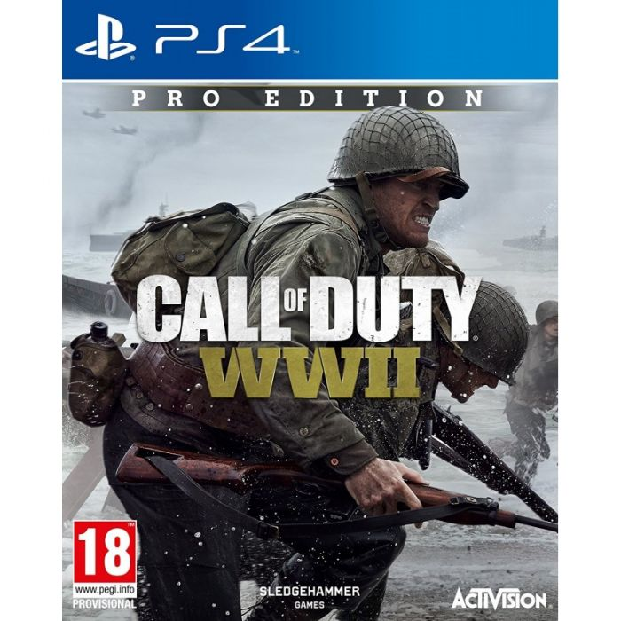 Call of Duty World War 2 Pro Edition for PS4