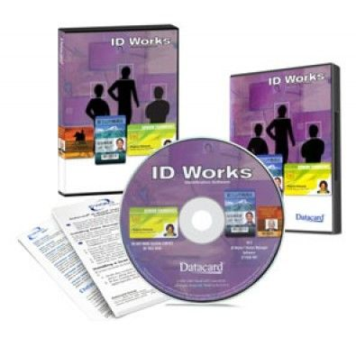 Data Card ID Works Intro Identification Software + Dongle