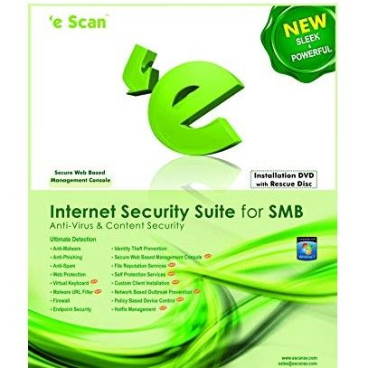 eScan Internet Security Suite for SMB 5 users