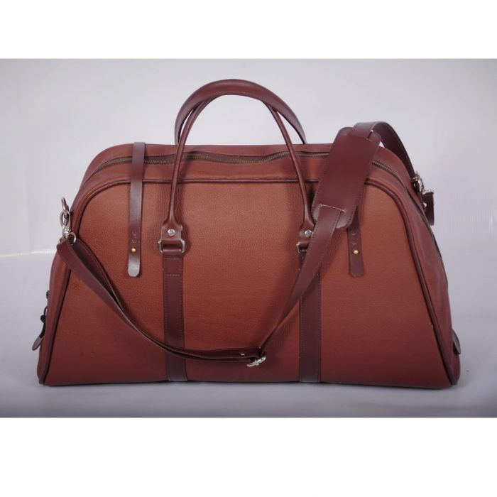 Leather vacation/ travel bag