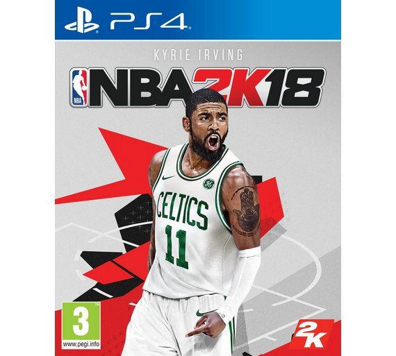 NBA 2K18 game for PS4