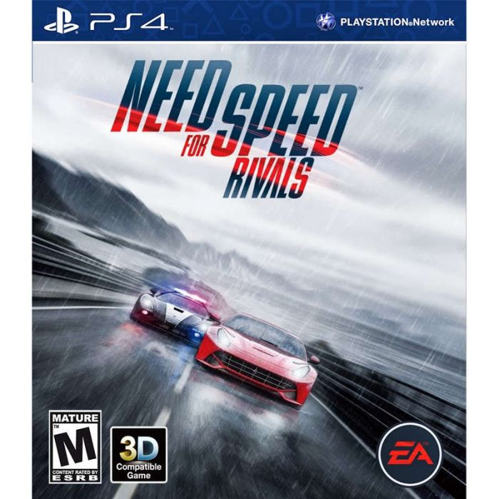 Need for Speed Rivals game for PS4