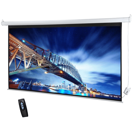 Target Projector Screen Electrical 180 by 180cm
