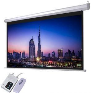 Target Projector Screen Electrical 200 by 200cm