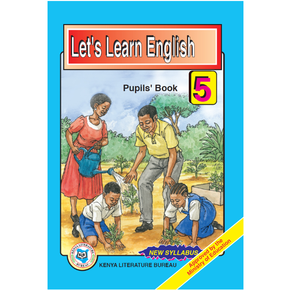 KLB Let's Learn English Std 5 P/B [Approved]