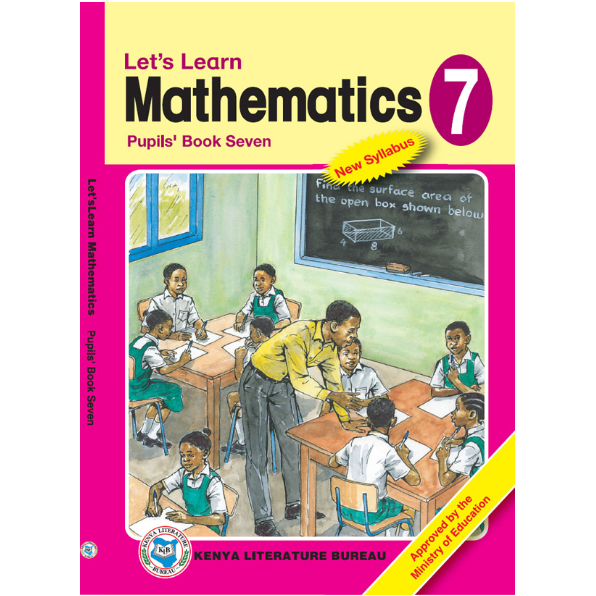 KLB Let's Learn Maths Std 7 P/B [Approved]