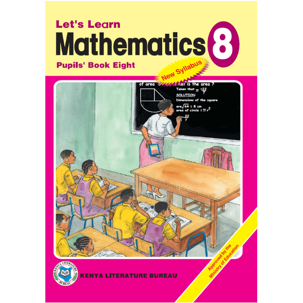 KLB Let's Learn Maths Std 8 P/B [Approved]